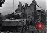 Image of American tanks on streets of St Lo Saint Lo France, 1944, second 11 stock footage video 65675027626