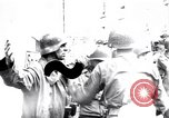 Image of German prisoners of war captured in St Lo Saint Lo France, 1944, second 1 stock footage video 65675027627