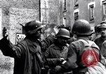 Image of German prisoners of war captured in St Lo Saint Lo France, 1944, second 2 stock footage video 65675027627
