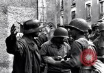 Image of German prisoners of war captured in St Lo Saint Lo France, 1944, second 3 stock footage video 65675027627