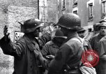 Image of German prisoners of war captured in St Lo Saint Lo France, 1944, second 4 stock footage video 65675027627