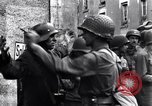 Image of German prisoners of war captured in St Lo Saint Lo France, 1944, second 10 stock footage video 65675027627