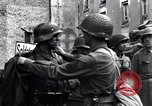 Image of German prisoners of war captured in St Lo Saint Lo France, 1944, second 11 stock footage video 65675027627