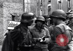 Image of German prisoners of war captured in St Lo Saint Lo France, 1944, second 12 stock footage video 65675027627