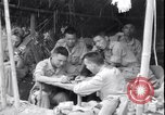 Image of Chinese and United States officers Myitkyina Airdrome Burma, 1944, second 9 stock footage video 65675027634