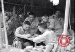 Image of Chinese and United States officers Myitkyina Airdrome Burma, 1944, second 10 stock footage video 65675027634