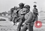 Image of General Dwight D Eisenhower visits Normandy Cherbourg Normandy France, 1944, second 5 stock footage video 65675027643