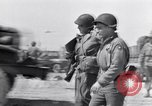 Image of General Dwight D Eisenhower visits Normandy Cherbourg Normandy France, 1944, second 6 stock footage video 65675027643