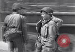 Image of General Dwight D Eisenhower visits Normandy Cherbourg Normandy France, 1944, second 7 stock footage video 65675027643