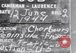Image of General Eisenhower Cherbourg Normandy France, 1944, second 2 stock footage video 65675027645