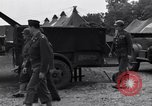 Image of Stimson with Bradley and Patton tour field hospital Cherbourg Normandy France, 1944, second 7 stock footage video 65675027646