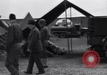 Image of Stimson with Bradley and Patton tour field hospital Cherbourg Normandy France, 1944, second 10 stock footage video 65675027646