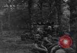 Image of 29th Division soldiers rest and listen to music Saint Lo France, 1944, second 10 stock footage video 65675027649
