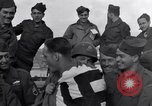 Image of 2nd Armored division soldiers returning from front in France Cherbourg France, 1945, second 12 stock footage video 65675027652