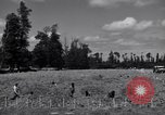Image of La Gambe Cemetery Normandy France, 1944, second 2 stock footage video 65675027656