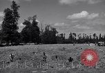 Image of La Gambe Cemetery Normandy France, 1944, second 9 stock footage video 65675027656