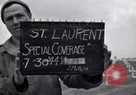 Image of Saint Laurent Cemetery Saint Laurent Sur Mere France, 1944, second 4 stock footage video 65675027658