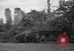 Image of M-7 Motor Carriage Saint Mere Eglise France, 1944, second 7 stock footage video 65675027664