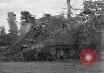 Image of M-7 Motor Carriage Saint Mere Eglise France, 1944, second 9 stock footage video 65675027664