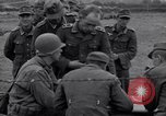 Image of German prisoners questioned by American soldiers Saint Honorine Des Pertes France, 1944, second 3 stock footage video 65675027666