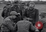 Image of German prisoners questioned by American soldiers Saint Honorine Des Pertes France, 1944, second 8 stock footage video 65675027666