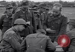 Image of German prisoners questioned by American soldiers Saint Honorine Des Pertes France, 1944, second 9 stock footage video 65675027666
