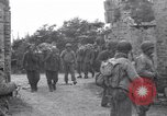 Image of German prisoners Saint Mere Eglise France, 1944, second 7 stock footage video 65675027667