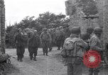 Image of German prisoners Saint Mere Eglise France, 1944, second 8 stock footage video 65675027667