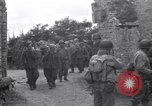 Image of German prisoners Saint Mere Eglise France, 1944, second 9 stock footage video 65675027667