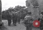 Image of German prisoners Saint Mere Eglise France, 1944, second 10 stock footage video 65675027667