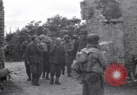 Image of German prisoners Saint Mere Eglise France, 1944, second 12 stock footage video 65675027667