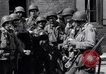 Image of French woman Saint Mere Eglise France, 1944, second 4 stock footage video 65675027668