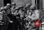 Image of French woman Saint Mere Eglise France, 1944, second 5 stock footage video 65675027668