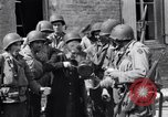 Image of French woman Saint Mere Eglise France, 1944, second 12 stock footage video 65675027668