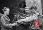 Image of German prisoners Saint Mere Eglise France, 1944, second 7 stock footage video 65675027670