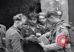 Image of German prisoners Saint Mere Eglise France, 1944, second 9 stock footage video 65675027670