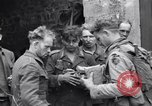 Image of German prisoners Saint Mere Eglise France, 1944, second 10 stock footage video 65675027670