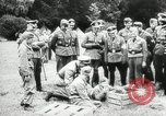 Image of Hitler youth camp Germany, 1942, second 7 stock footage video 65675027680