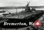Image of USS Bunker Hill Bremerton Washington, 1944, second 2 stock footage video 65675027696