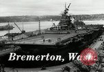 Image of USS Bunker Hill Bremerton Washington, 1944, second 3 stock footage video 65675027696