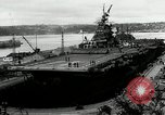 Image of USS Bunker Hill Bremerton Washington, 1944, second 5 stock footage video 65675027696
