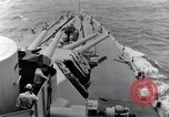 Image of 16 inches gun turrets Pacific Theater, 1943, second 5 stock footage video 65675027739