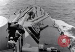Image of 16 inches gun turrets Pacific Theater, 1943, second 6 stock footage video 65675027739