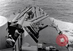 Image of 16 inches gun turrets Pacific Theater, 1943, second 7 stock footage video 65675027739