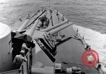 Image of 16 inches gun turrets Pacific Theater, 1943, second 8 stock footage video 65675027739