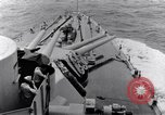 Image of 16 inches gun turrets Pacific Theater, 1943, second 9 stock footage video 65675027739