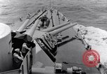 Image of 16 inches gun turrets Pacific Theater, 1943, second 10 stock footage video 65675027739