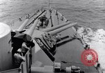 Image of 16 inches gun turrets Pacific Theater, 1943, second 11 stock footage video 65675027739