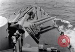 Image of 16 inches gun turrets Pacific Theater, 1943, second 12 stock footage video 65675027739