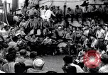 Image of US battleship crew entertainment Pacific Theater, 1943, second 1 stock footage video 65675027740